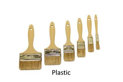 Laminating Brushes - Plastic Handle