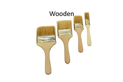 Laminating Brushes - Wooden Handle