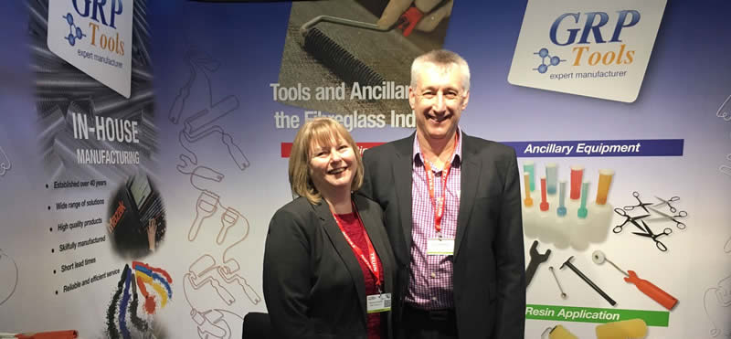 Debbie and Peter Hussey - GRP Tools