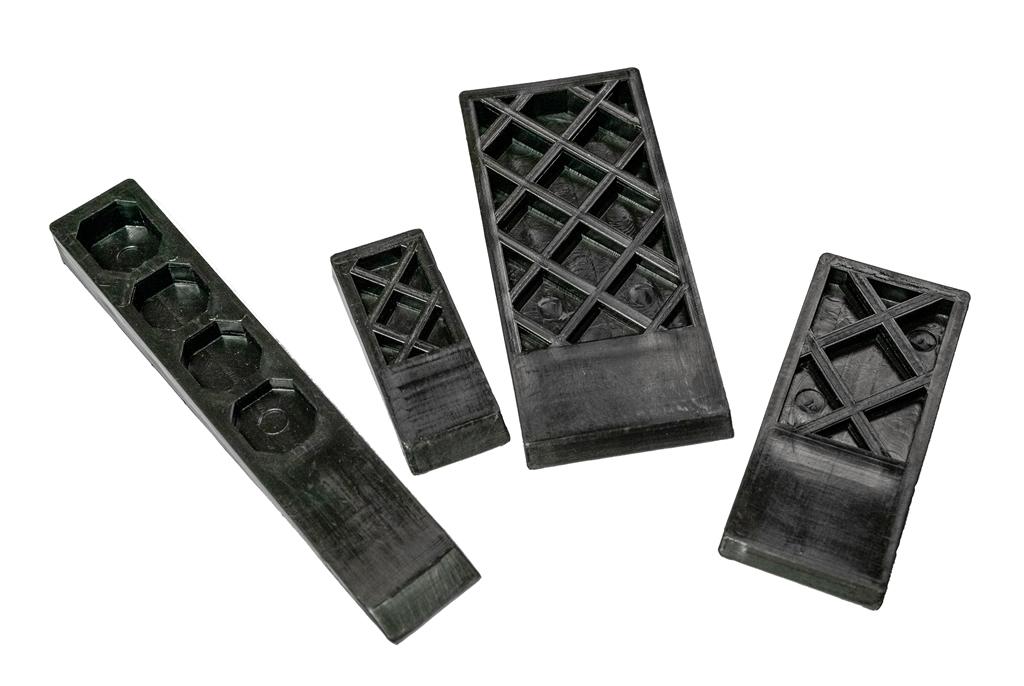 Wedges - Flexible Black