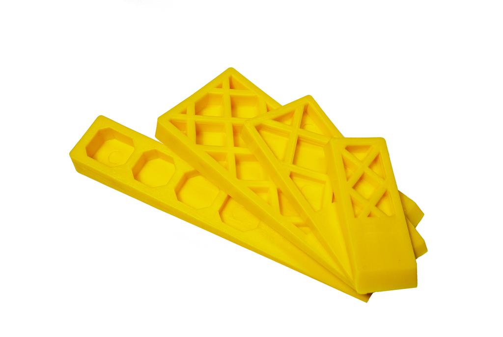 Wedges - Flexible Yellow